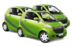 Auto verte commercial accueil