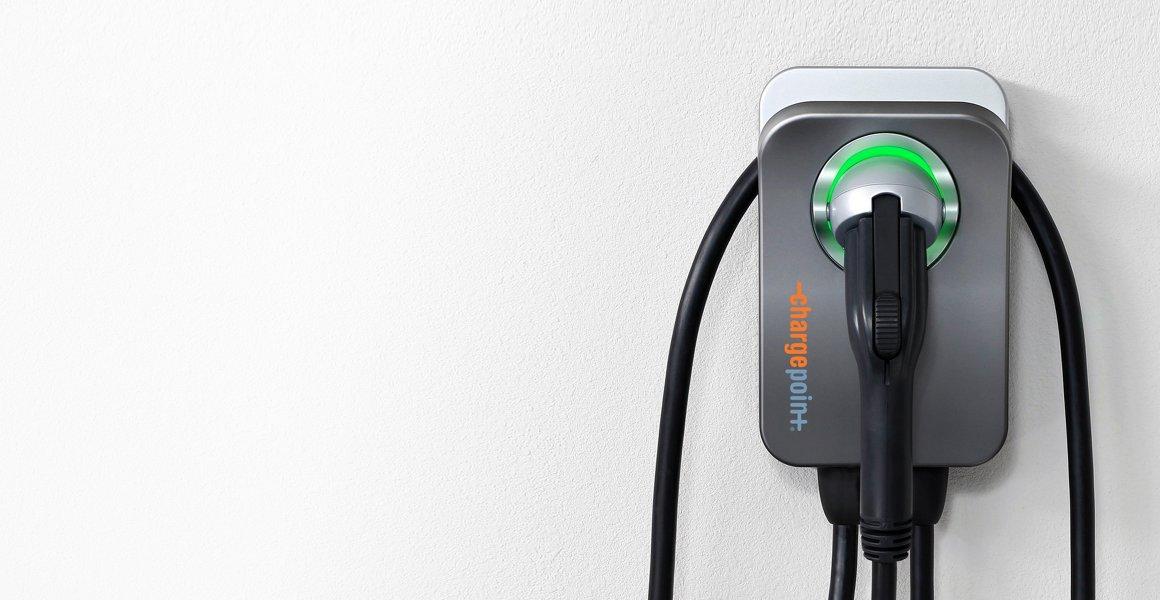 Borne de recharge ChargePoint Home Flex