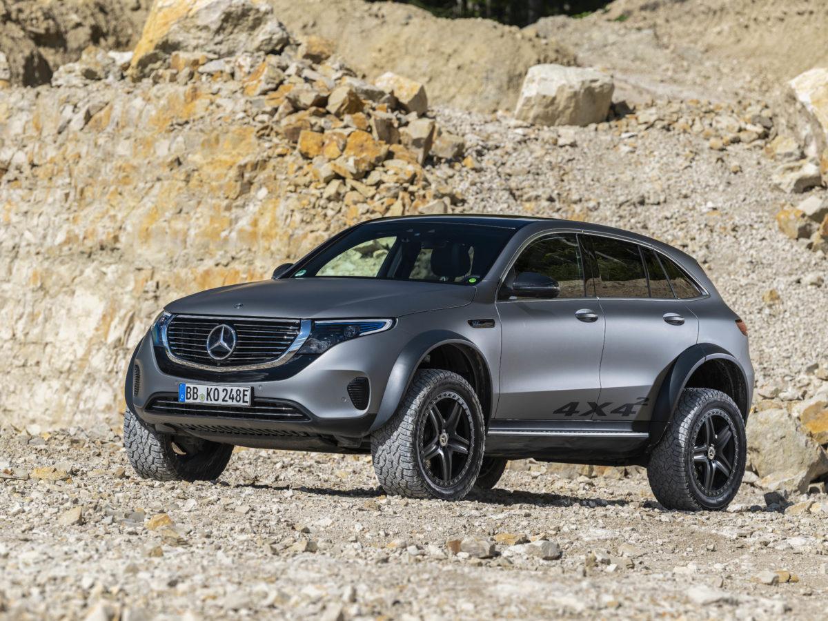 Mercedes-Benz EQC Squared Concept