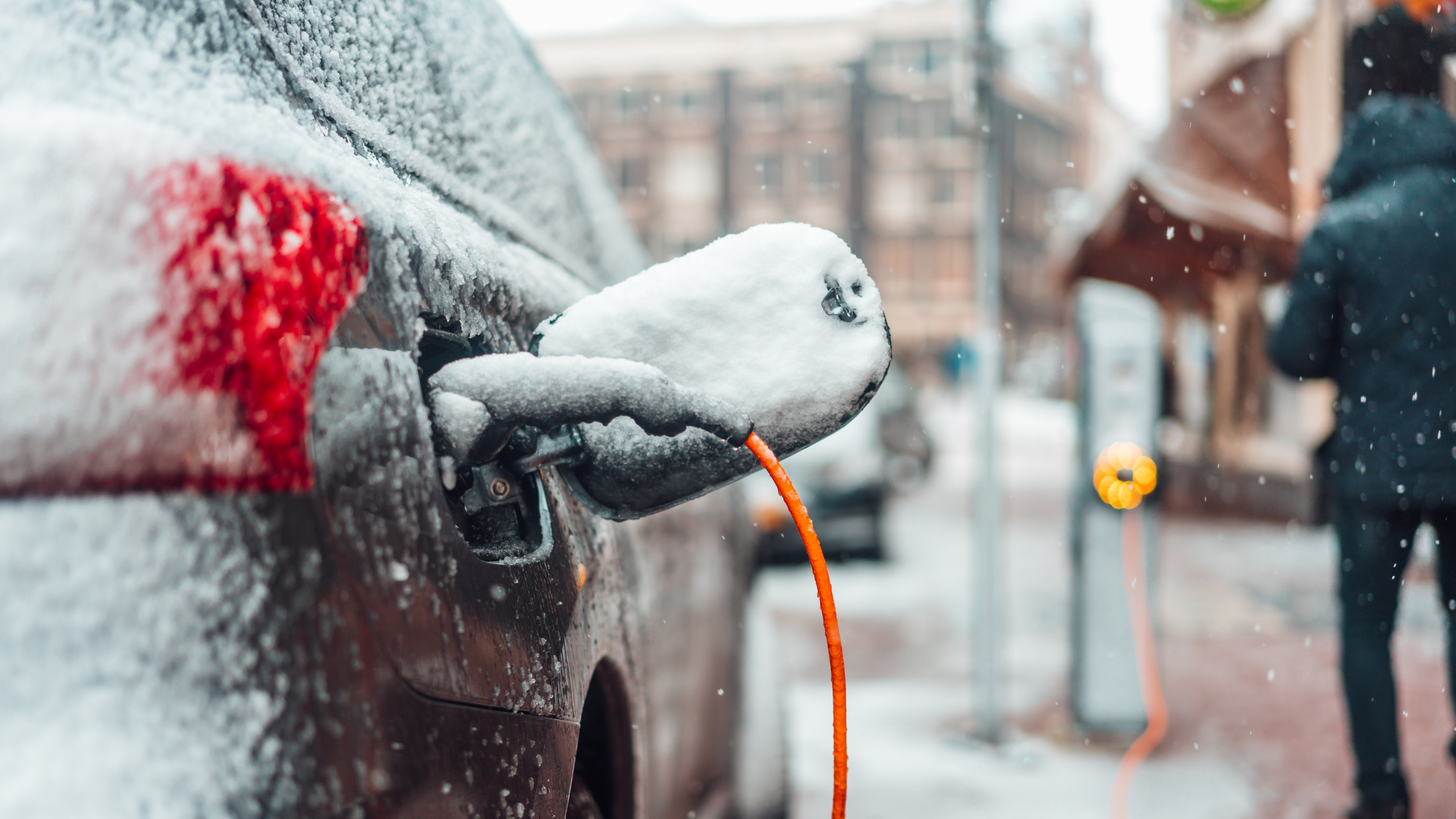 voiture électrique en hiver