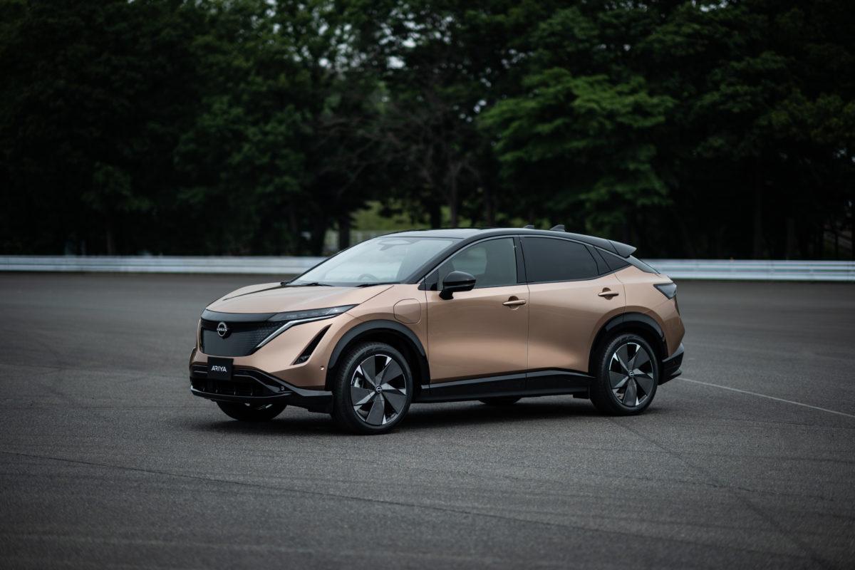 Nissan Ariya voiture électrique 2021