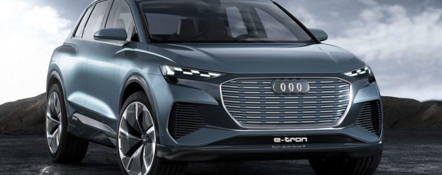 Audi Q4 e-tron VUS électrique
