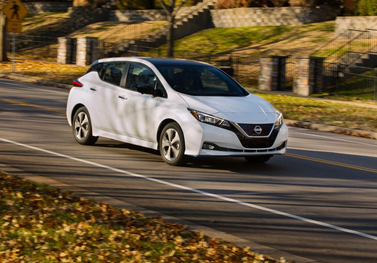 Nissan LEAF Plus 2020